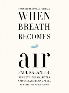 """Book Cover: """"When Breath Becomes Air"""""""