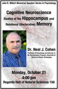 Millert Memorial Speaker Poster: Cognitive Neuroscience