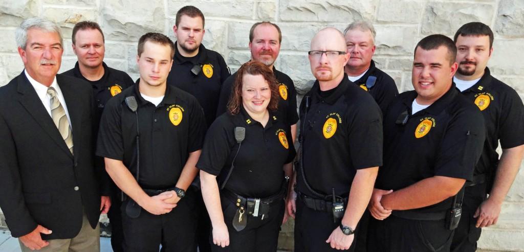 The St. Olaf Public Safety staff