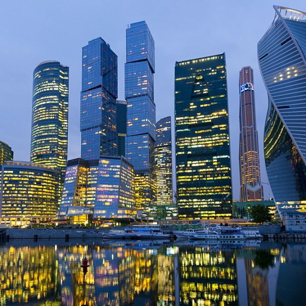 Moscow City Skyscrapers, Moscow, Russian Federation