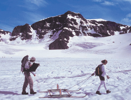 Physics students conduct research on Storglaciären, a glacier in Arctic Sweden, to understand how the world's ice masses are responding to global climate change.