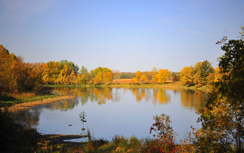 With a grant from the the U.S. Fish and Wildlife Service Wetland Restoration program, 17 St. Olaf wetlands have been created since 1992.