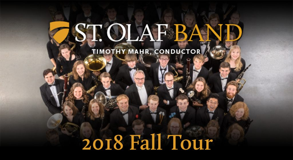 St. Olaf Fall Band Tour