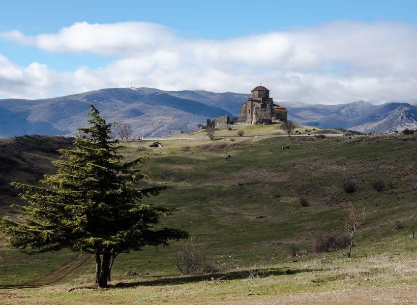 georgia kazbegi jvari monastery