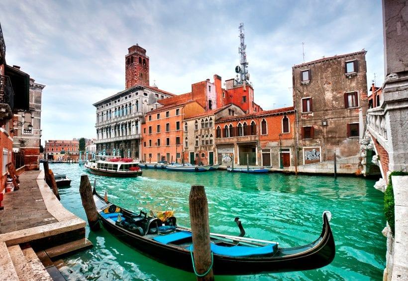 Italy Venice gondola-1