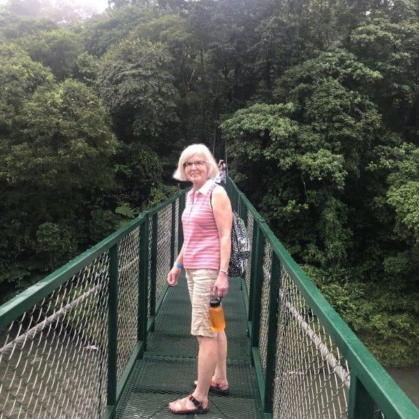 Costa rica tree top walking