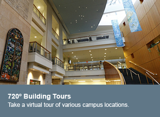 Take a virtual tour of various campus locations on St. Olaf