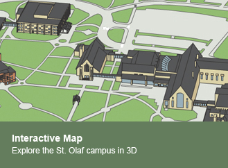 Explore the St. Olaf campus using our customized map