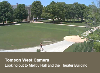 Tomson Hall - West view cam