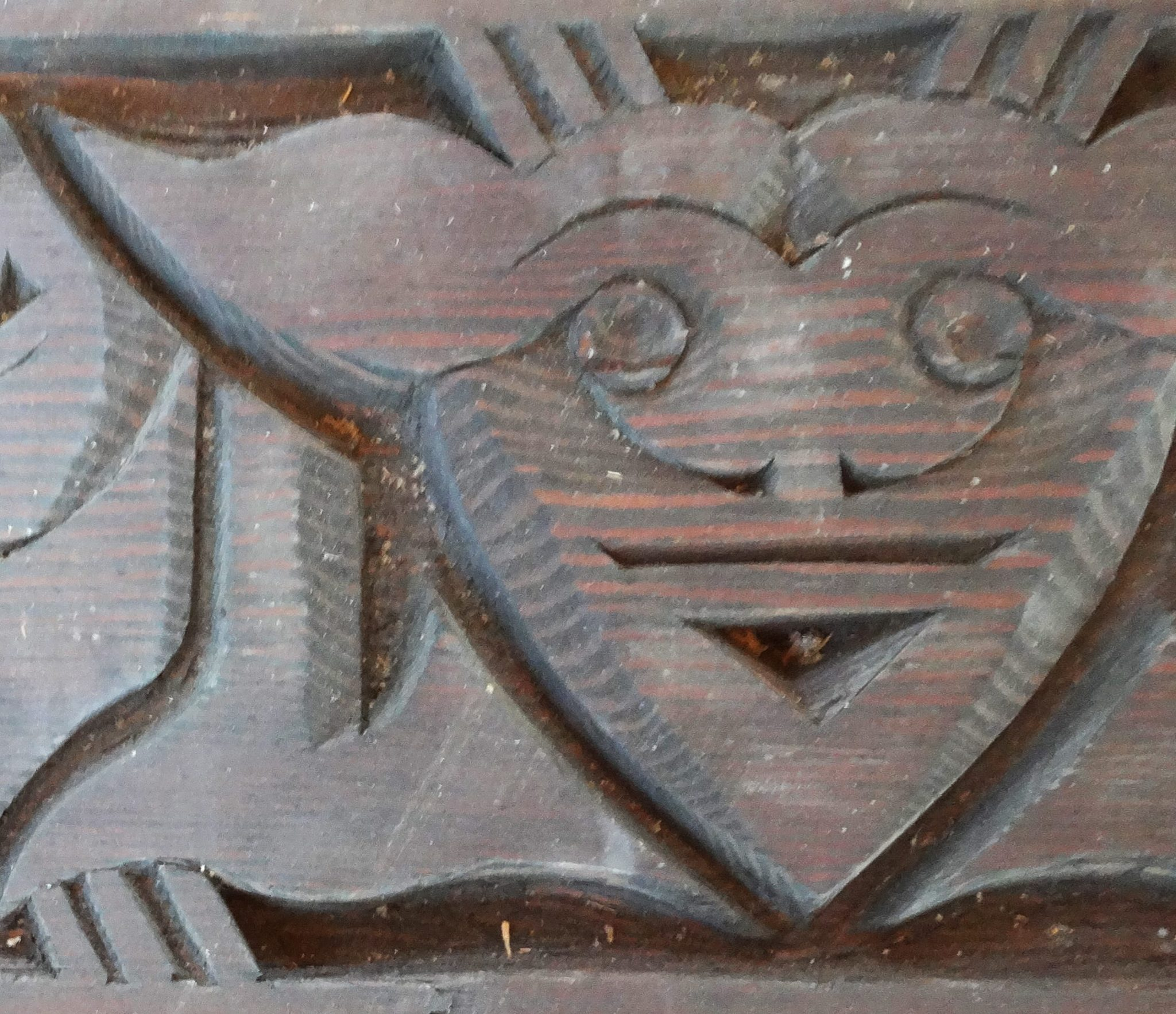 Detail of an interior carving
