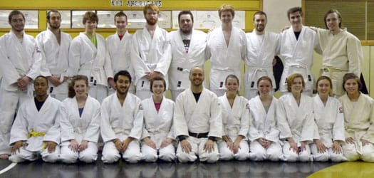 "Students from an array of academic backgrounds signed up for ""Zen and the Art of Judo."""