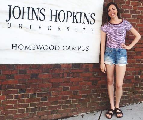 John hopkins summer research