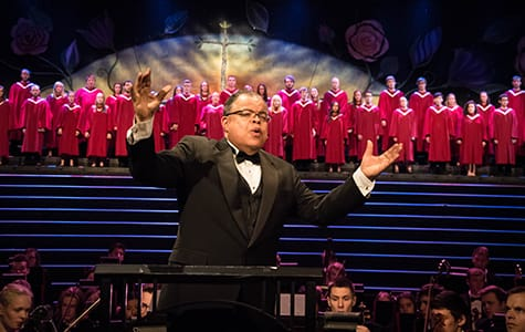 """The live stream allows us to bring this message to those who have never experienced Christmas Festival, or people who have not experienced it for a very long time,"" says Christmas Festival Artistic Director Anton Armstrong '78."